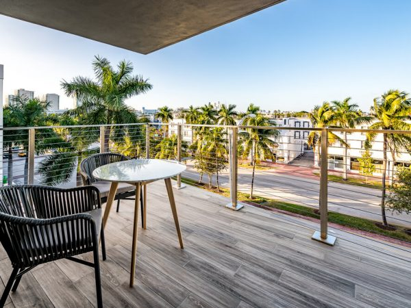 Stainless Steel Railing, Miami Beach, Florida